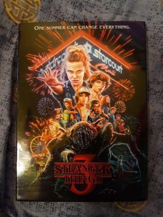Stranger Things 3 dvd