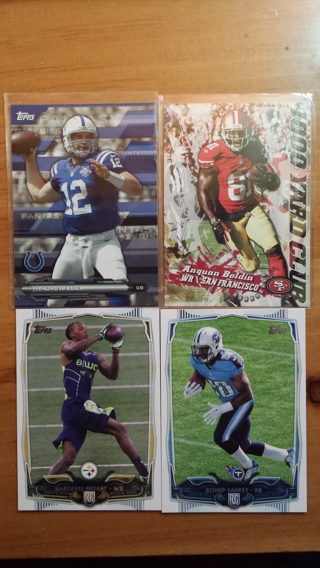 Lot of 2014 Topps Football (38 cards)