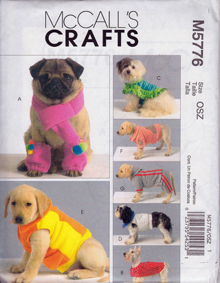 Free: McCall\'s M5776 Dog Coats Sewing Pattern - Sewing - Listia.com ...