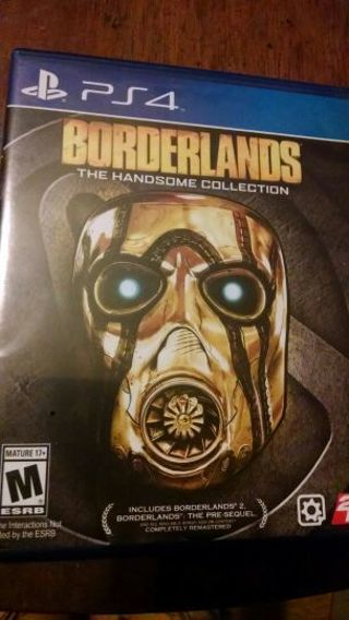 BORDERLANDS THE HANDSOME COLLECTION!!! FULL GAME (2 GAMES ONE DISC) FOR PS4!! FREE SHIPPING