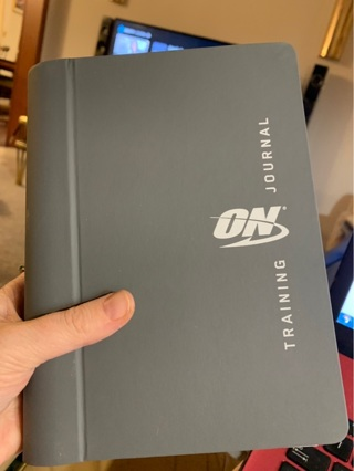 Brand New Gift Quality Official Gear: ON (Optimum Nutrition) TRAINING JOURNAL for your Fitness Goals