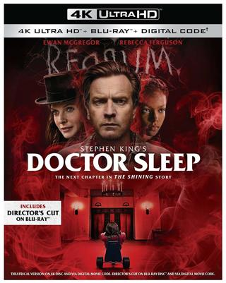 Doctor Sleep (Digital 4K UHD Download Code Only) *Stephen King* *Ewan McGregor* *Rebecca Ferguson*