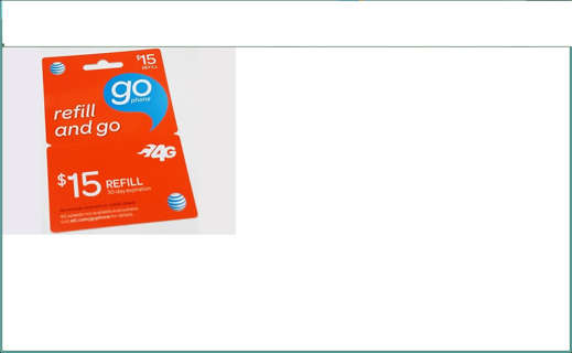 pre paid go phone credit for $15