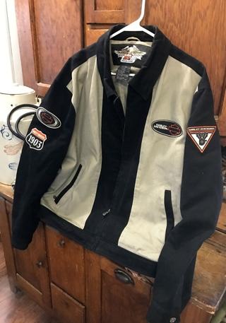 Like New Harley Davidson Heavy Insulated Jacket Size Large to X-Large