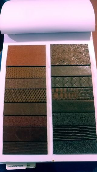 Faux Leather Swatches
