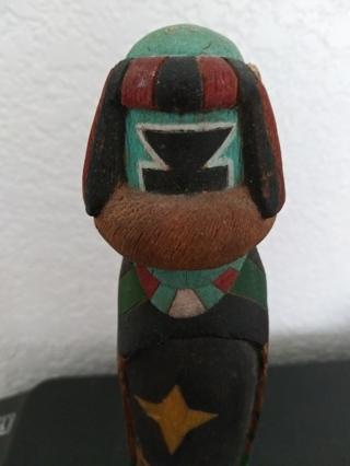 Vintage Kachina Sculpture VGC
