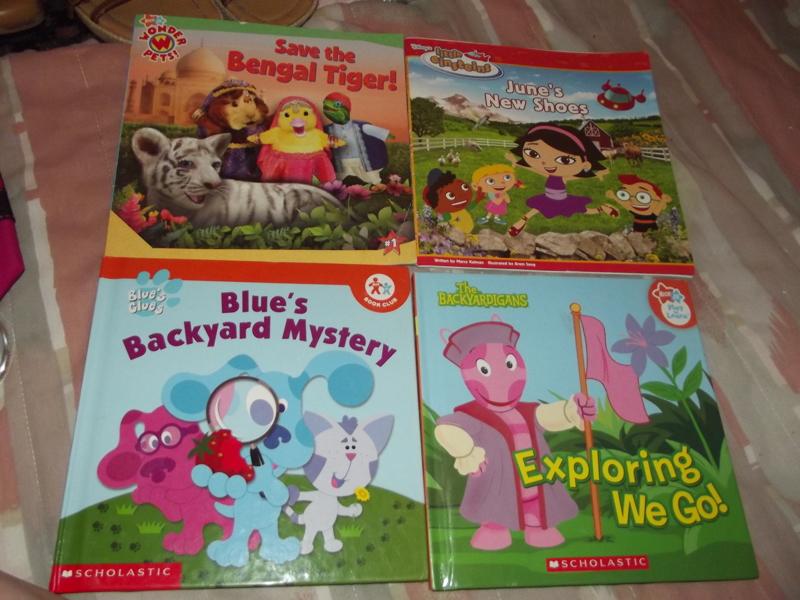 Free: 3 Nick Jr. Books and 1 Disney Book!!!!!!! - Children\'s ...