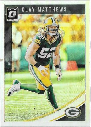 2018 Donruss Optic - Clay Matthews