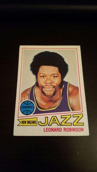 1977 Leonard Robinson · UT JAZZ