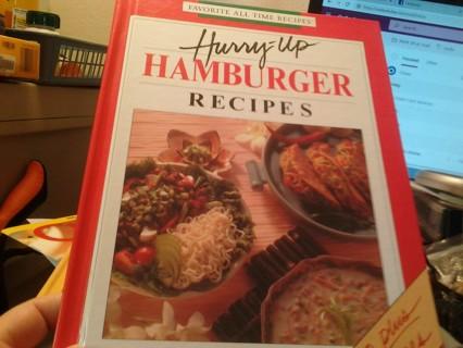 Hurry Up Hamburger Recipes Cookbook