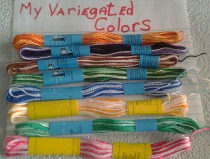 HandMade 10 Variegated Bracelets