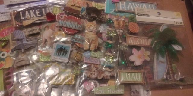 11 NIP 3D Sticker Packs