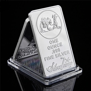 Fine Silver Bullion Bar US Union Metal Coin Collectible