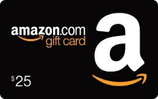 $25 Aamazon E Gift Card Super Fast Delivery