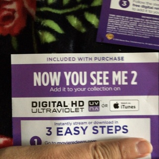 Now You See Me 2 digital code