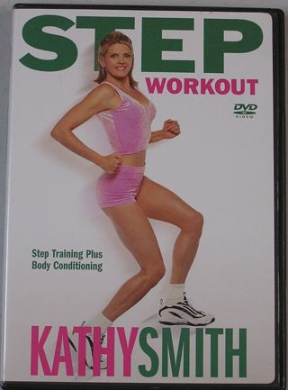 KATHY SMITH STEP WORKOUT STEP TRAINING PLUS BODY CONDITIONING DVD