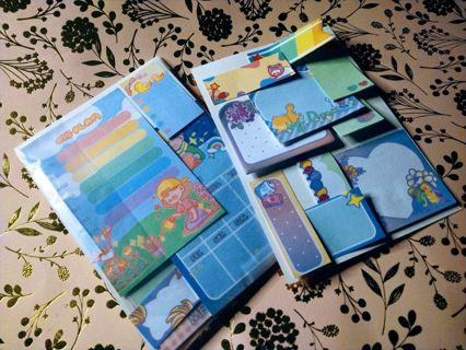 Kawaii Planner Sticky Notes