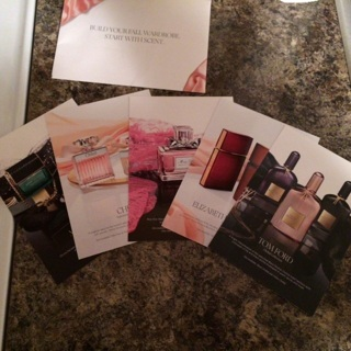 High~end perfume samples