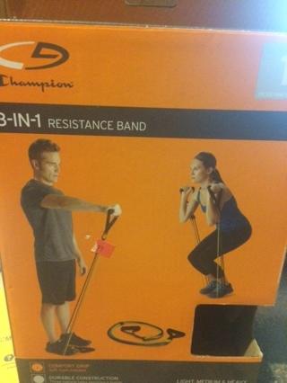 Champion 3 in 1 Interchangable Resistance Band