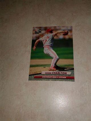 1992 Fleer Ultra Norm Charlton Cincinnati Reds
