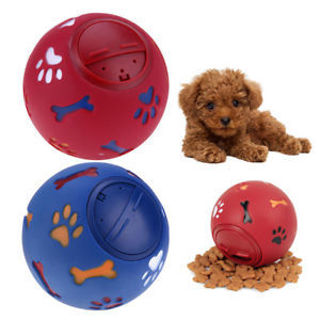 Puppy Play Cleaning Rubber Pet Supplies Leakage Food Chew Dog Ball Toys