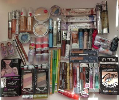 Lot of 150 ~ Hard Candy Assorted Makeup Lot