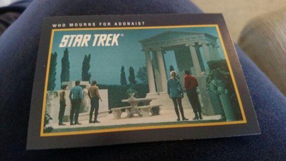 Star Trek - Who Mourns For Adonais?