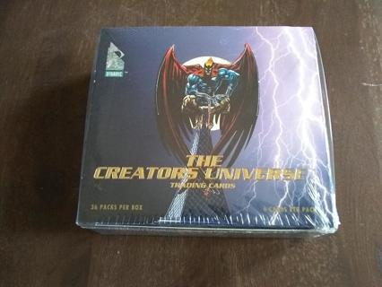 The Creators Universe 1993 Factory Sealed Box of 36 Booster Packs
