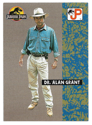 Jurassic Park #19 - Dr.Alan Grant