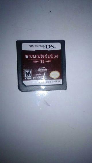 Ds game dementium 2