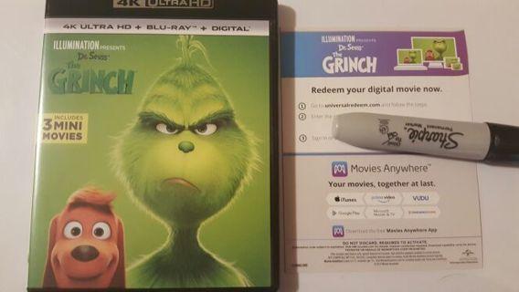 Grinch 4k uhd digital code movies anywhere