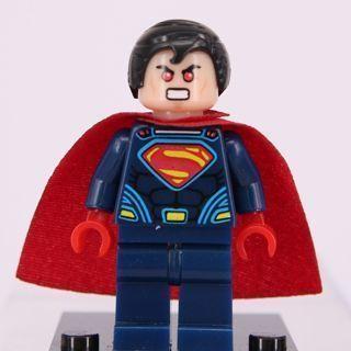 New Superman Minifigure Building Toy Custom Lego
