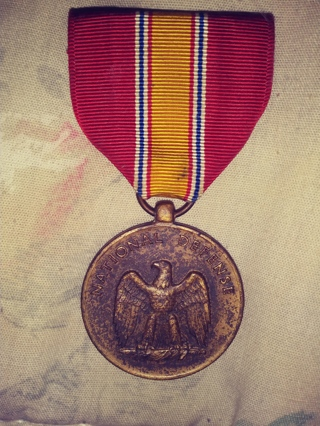 Bronze national defense medal korean war