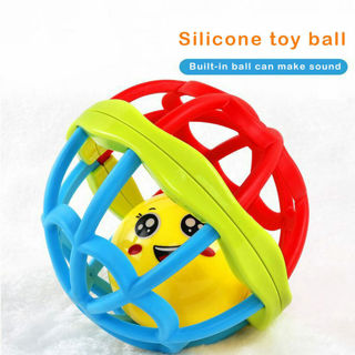 Soft Baby Toy Ball Toy Rattles Development Baby Toys Plastic Hand Bell Teather
