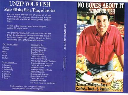 Free: No Bones About It - Unzip Your Fish - DVD - Fishing - Listia