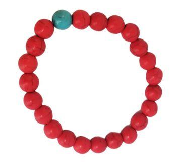 Faux coral stretchy bracelet New free ship