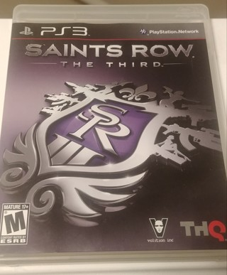 Saints Row + Uncharted PS3