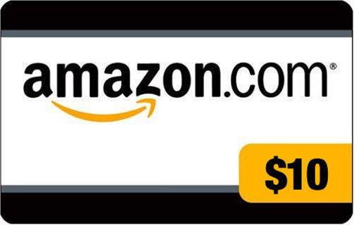 $10 Amazon E~gift card :D