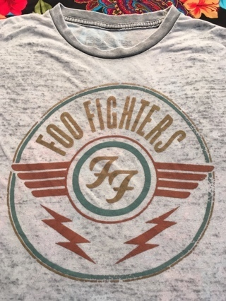 Foo Fighters Shirt Band Tshirt Heavy Distressed