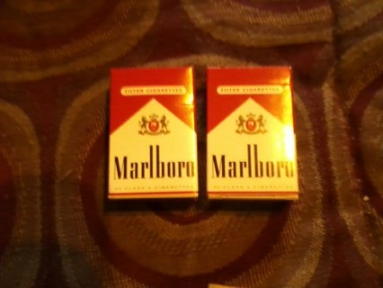 2 packs MARLBORO MATCHES FREE SHIPPING