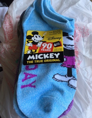 Mickey day socks