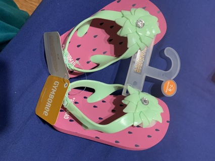 7-8 mos baby girl sandals
