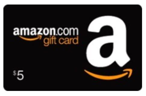 $5.00 Amazon gift card **Possible bonus item!!** Super fast delivery!!!
