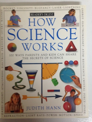 2 hardcover books How Science works / How nature workds