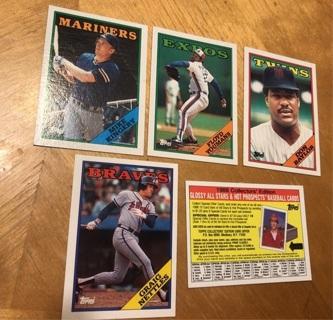 1988 Topps Baseball Cards