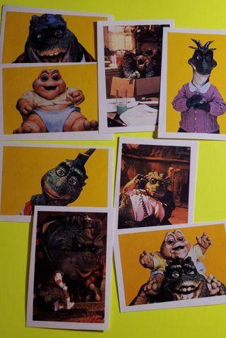 8 DinOsaurs Sticker Cards
