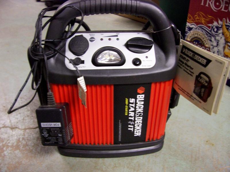 Black And Decker Car Battery Jumper