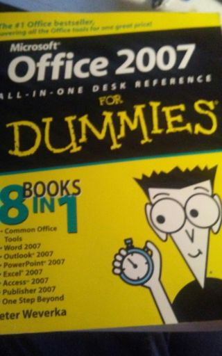 Office 2007 All-in-One Desk Reference for Dummies® by Peter Weverka