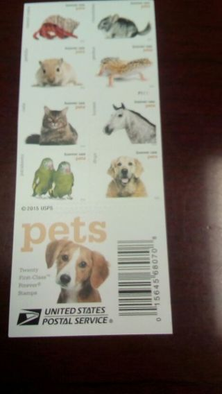 Pet Forever Stamps