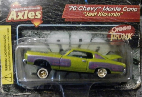 """Free: Revell Lowriders 1970 Chevy Monte Carlo """"Jest Klownin"""" Die-Cast Collectible - Collectible ..."""